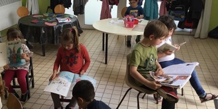 Enfants classe petite