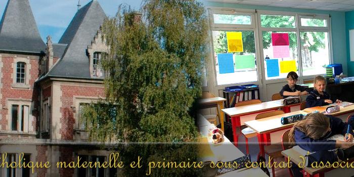 Ecole maternelle et primaire catholique sainte marie crepy en valois
