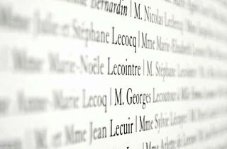 Louvre mur des donateurs campagne
