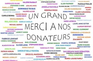 Mur des donateurs